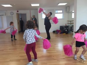 kids class at DM Studios