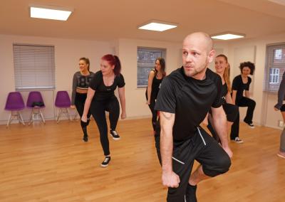 adult street dance class southampton