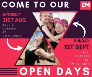 Open Days DM Studios Southampton