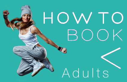 how to book adult dance classes southampton
