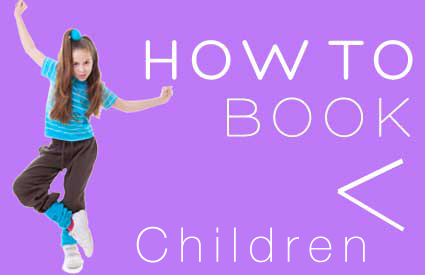 how to book kids dance classes DM Studios